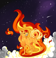 This Girl Is On FIRE! by Dragon-Crusade