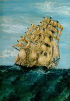 Tall Ship 1974 by Dontheunsane