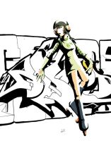 Gum - jet set radio by Wynturtle