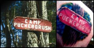 Camp Puckerbrush. by OddEnvy