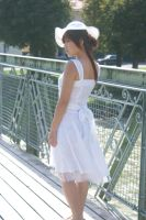 white dress 3 by Cococo-Stock