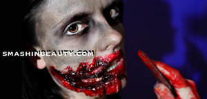Evil Dead 2013 Makeup Tutorial by smashinbeauty