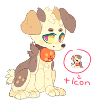 Oni / Demon Dog Adoptable [AUCTION] by chickenmcfuckit