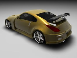 Fast'n Furious Nissan 350z by Snipehunter4
