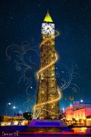 Clock Tower-Tunisia by joeart-tn