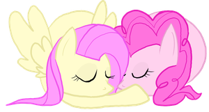 Pinkie Pie to my Fluttershy by Aquillic-Tiger