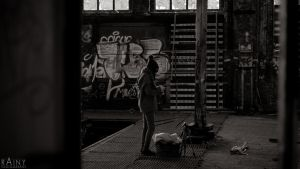 Lost Place Portrai Meike #11 by Rainyphoto