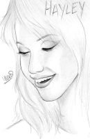 Hayley Williams of Paramore by Dunshootimlegal