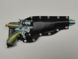 Steampunk Holster by WhiteDove-Creations