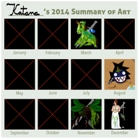 2014 Summary of Art by Katana-Tate