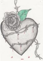 Barbed wire heart by ShShipping15