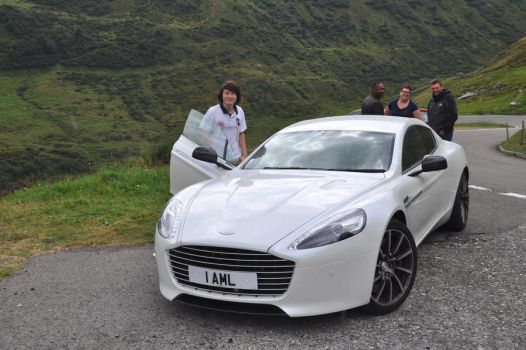 Aston Martin Rapide S-Top Gear by car4free