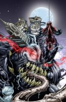 Venom on New York color by Vinz-el-Tabanas