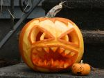 Killer Pumpkin by Champineography