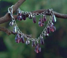 Purple Chimes bracelet by StephaniePride