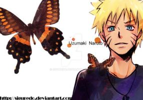 Shel - Naruto butterfly by siguredo