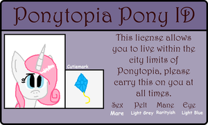 Glamour Party Ponytopia ID by ValentinePegasus