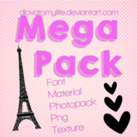 MEGA PACK! by dlovatomylife