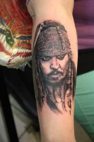 Jack Sparrow by SimplyTattoo