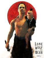 Lonewolf and Cub by DanielMurrayART