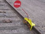 Derailer with flag by hopper195