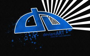 DeviantART Wallpaper BLUE by crazychaos2