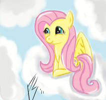 Cloudy with a chance of Fluttershy by PinkieSurprise
