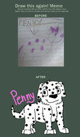 Draw This Again - Penny by Mcingake