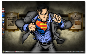 Windows 7 Daily Planet by Draco23hack