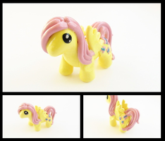 Fluttershy Figure by WTFcharms
