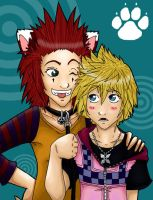 AkuRoku: Man's Best Friend by Blue-Dragon22
