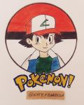 Pokemon - Ash Ketchum by NatyBarbosa