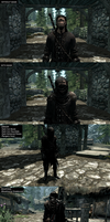 ME in Skyrim by NeonBlacklightTH