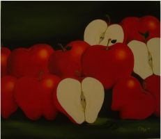 Red Delicious by thepetiteolaya
