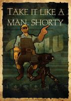 Take it like a man, shorty by adamayo