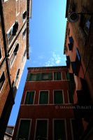 blue sky in venice by ITphotography