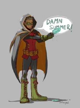 Damian / Summer by Silverzzz