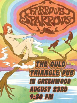 Farrows Sparrows Poster by ClearSkySuite