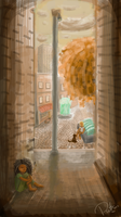 Allie in the Alley by Put-Putt
