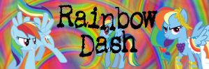 Rainbow Dash banner by phinbellaloveforever