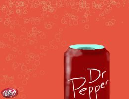 Dr. Pepper can by empire539