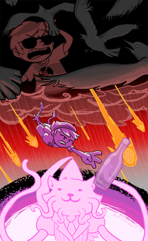 Homestuck: End of Act 3 by saffronscarf