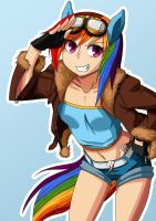 Rainbow Dash by ultraspank