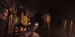 Digital Matte Painting - Concept for a game scene by Aracama