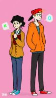 KevEdd K and D by pudding-diver