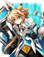[Elsword] Shelling Guardian by ClairSH