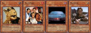 Yu-Gi-Oh Cards: 80's Series by PhoeChan