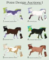 [CLOSED] Point Design Auctions I by prints-of-hooves