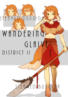 Fluffen Auction: Wandering Glaive (ended!) by Steamed-Bun