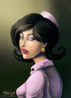 The Doctor with a Pearl Earring by MishaHyde